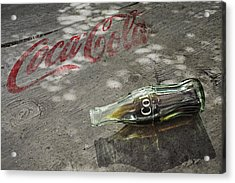 Coca-cola Loved All Over The World 6 Acrylic Print