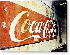 Coca Cola Sign  Acrylic Print by Scott Pellegrin