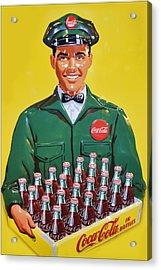 Coca Cola Vintage Acrylic Print