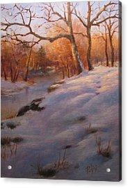 Cocalico Snow Acrylic Print