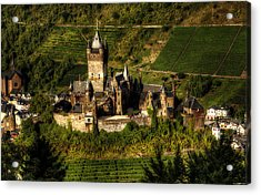 Acrylic Print featuring the photograph Cochem Castle by Ryan Wyckoff