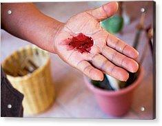 Cochineal Dye Acrylic Print