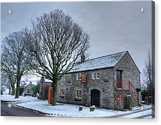Cock And Pullet Pub Acrylic Print