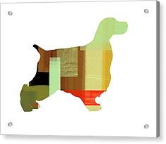 Cocker Spaniel 1 Acrylic Print by Naxart Studio