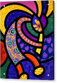 Coco Koko Pelli Acrylic Print by Steven Scott
