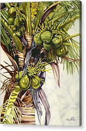 Coconut Bouquet Acrylic Print