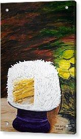 Coconut Cake Acrylic Print