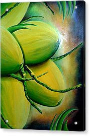 Coconut In Bloom Acrylic Print