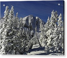 Cody Peak After A Snow Acrylic Print