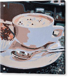Coffee And Cupcake Acrylic Print