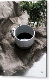 Coffee And Pine Acrylic Print