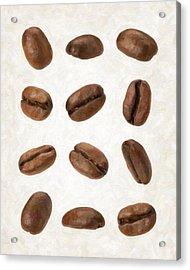 Coffee Beans Acrylic Print by Danny Smythe