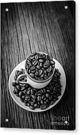 Coffee Beans Acrylic Print by Edward Fielding