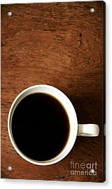 Coffee Break Acrylic Print by Birgit Tyrrell
