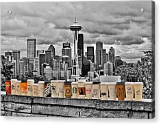 Coffee Capital Acrylic Print by Benjamin Yeager