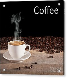 Coffee Concept Acrylic Print by Colin and Linda McKie