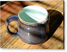 Coffee Connoisseur No.2 Acrylic Print by Christine Belt