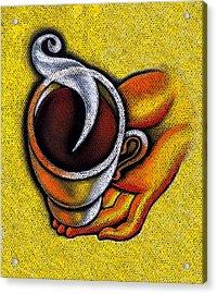 Coffee Cup  Acrylic Print by Leon Zernitsky
