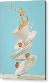 Coffee For A Stage Magician Acrylic Print