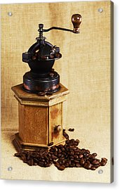 Coffee Grinder Acrylic Print by Falko Follert