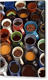 Coffee Mugs Acrylic Print
