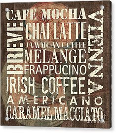 Coffee Of The Day 1 Acrylic Print by Debbie DeWitt