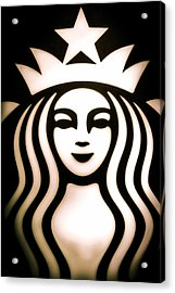 Coffee Queen Acrylic Print by Spencer McDonald