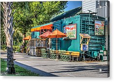 Coffee Shop Acrylic Print