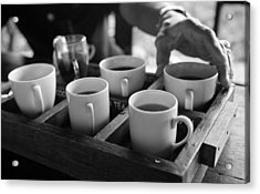 Acrylic Print featuring the photograph Coffee Tasting - Bali by Matthew Onheiber