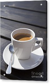 Coffee Time Acrylic Print by Ciprian Kis