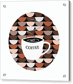Coffee Time Acrylic Print by Kenneth Feliciano