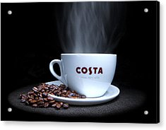 Coffee Time Acrylic Print by Rob Guiver