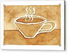 Coffee Acrylic Print by Tricia Griffith