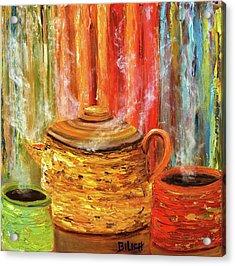 Coffee Trio Acrylic Print