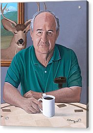 Coffee With Bob Friend Of Nature Acrylic Print