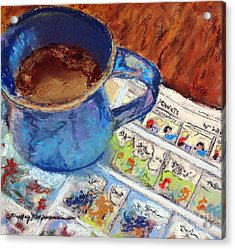 Coffee With Peanuts Acrylic Print by Shelley Koopmann