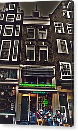 Coffee Shop Amsterdam Acrylic Print