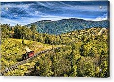 Cog At Mt. Washington Acrylic Print
