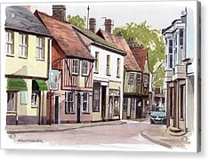 Coggeshall Acrylic Print by Colin Parker