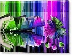 Cognitive Dissonance 2 Acrylic Print by Angelina Vick