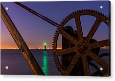 Cogwheel Framing Acrylic Print by Semmick Photo