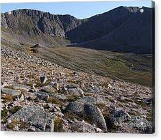 Coire An T' Sneachda - Cairngorm Mountains Acrylic Print by Phil Banks
