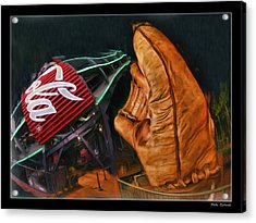 Coke Bottle Catch Acrylic Print by Blake Richards
