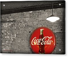Coke Cola Sign Acrylic Print