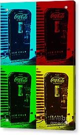 Coke Poster Acrylic Print