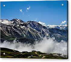 Col D Aubisque France - 03 Acrylic Print by Graham Taylor