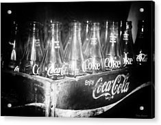 Cola Crate Acrylic Print