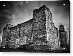 Colchester Castle Acrylic Print by Svetlana Sewell