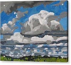Cold Air Mass Cumulus Acrylic Print