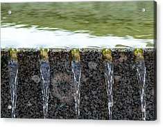 Cold And Clear Water - Featured 3 Acrylic Print